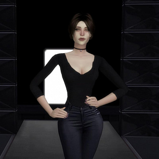 Animation pose Model fashion show Defile