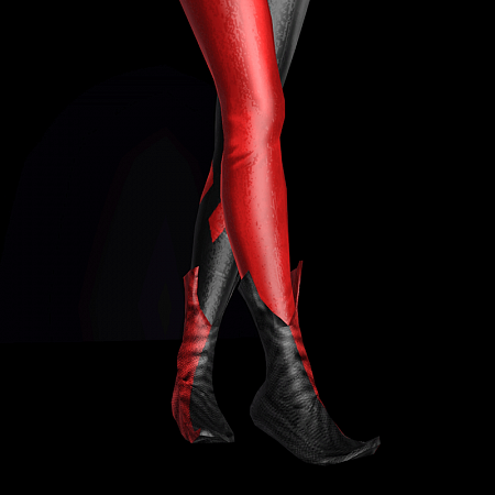 Сlassic shoes Harley Quinn